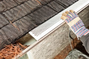 Gutter Covers in Newark by Tom McDonald Contracting